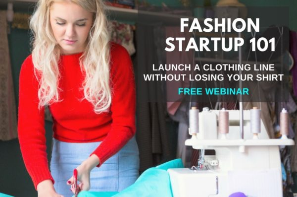 start a clothing line from scratch