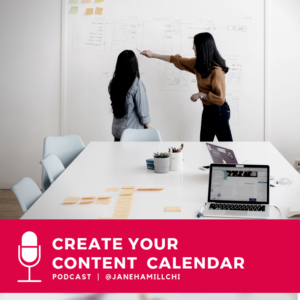 how to create a content calendar for a fashion business