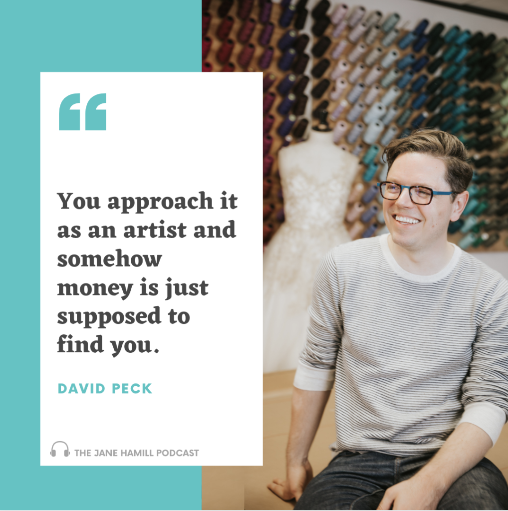 Advice from successful Houston fashion designer, David Peck