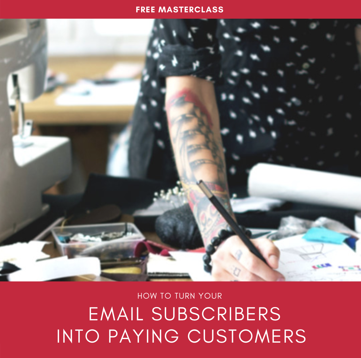 HGow to I turm my email subscribers into paying customers?