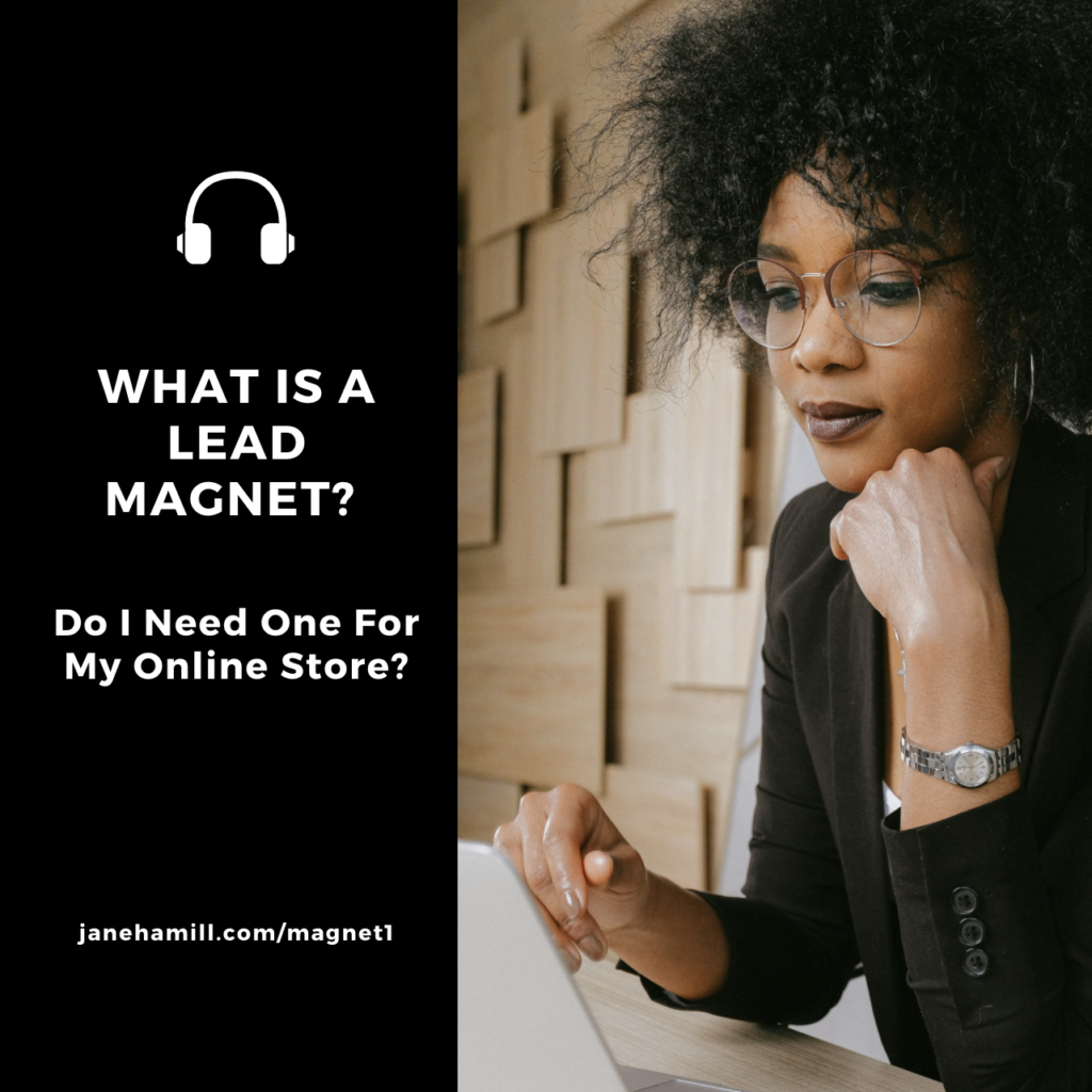how to use a lead magnet for an e-commerce site
