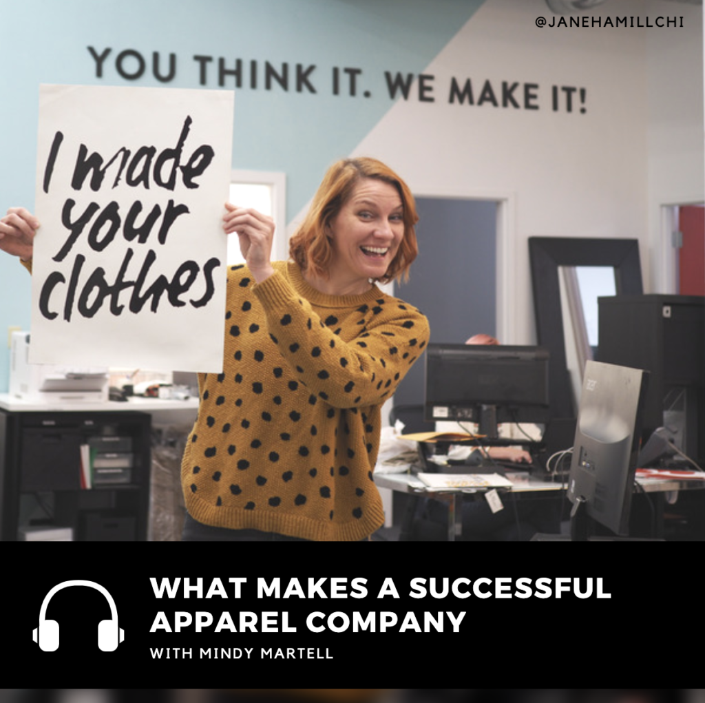 Mindy Martell from the Apparel Academy